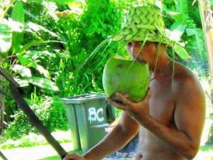 Refreshing coconuts